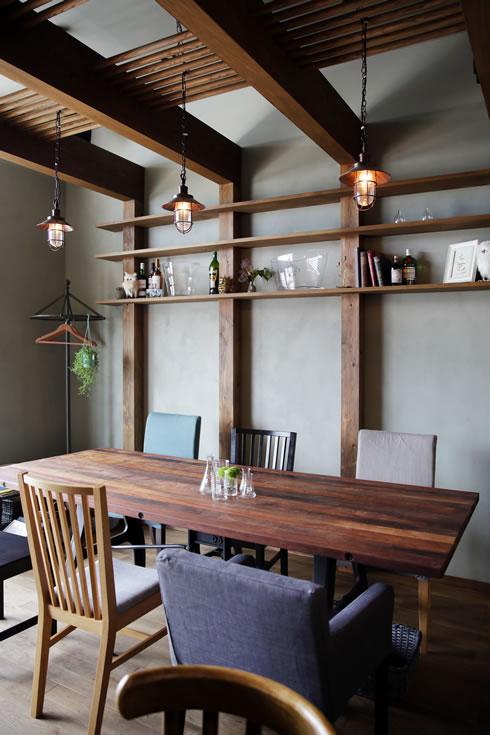 大きなテーブルを置くことが私らしさ。お料理と同じこだわりを空間へ。(食卓ラボ88)